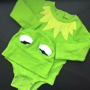 9-12 months Disney baby Kermit the Frog costume